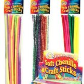 Chenille Craft Sticks