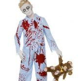 Bedtime Zombie Boy Child Costume