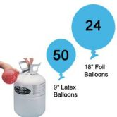 Helium balloon kit Disposable (Purchase)