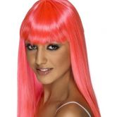 Glamourama Wig Neon Pink - SOLD OUT