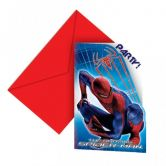 Item out of stock Amazing Spider-Man Die-Cut Invitations and Envelopes