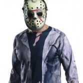 Official Jason Voorhees Costume Kit Friday The 13th Adult (One Size)