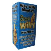 Stress Wee Willy Ring Key