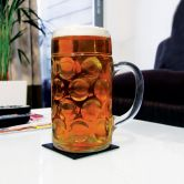 Beer Stein glass