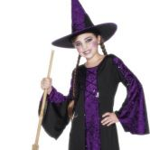 Bewitched Purple Child Costume
