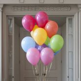 Helium Filled loose latex Balloons pick up from shop