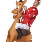 Out of stock - Jockey and Horse Inflatable Costume