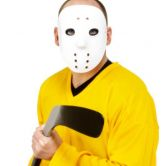 Hockey Face Mask White PVC