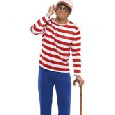 Wheres Wally Adult Costume
