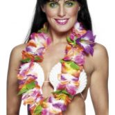 Hawaiian Lei  Multi-coloured