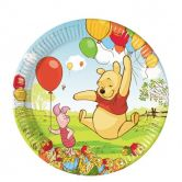 Paper Plates 23cm Winnie The Pooh And Piglet
