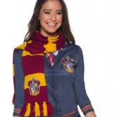 Harry Potter Gryffindor Deluxe Scarf, Costume