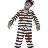 Zombie Convict Child Costume