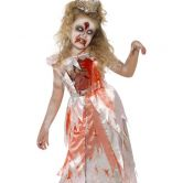 Zombie Sleeping Princess Child Costume