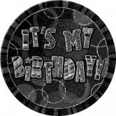 Dazzling Effects It's My Birthday Badge - Black 6