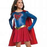 Supergirl TV Series Deluxe, Girls Childs Official Costume