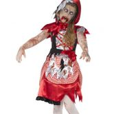 Zombie Miss Hood Child Costume