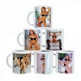 Female Strip Mugs | Mug with hot woman