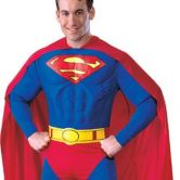 Superman Muscle Chest Adult Costume