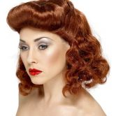 Pin Up Girl Wig 1940's