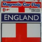 Car Flag St George (England) MAGNETIC