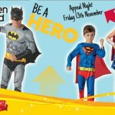 Adult -  Be a Hero Costumes