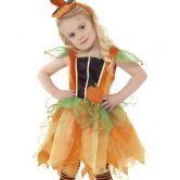 Pumpkin Fairy Child Costume