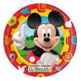 Plates Mickey Mouse Clubhouse