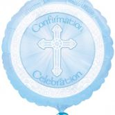Confirmation Blue | Radiant Cross