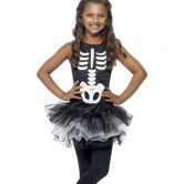 Skeleton Tutu Child Costume