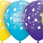 Happy Birthday to you Balloons helium filled latex balloon