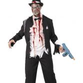 Zombie Gangster Adult Costume