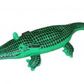 Inflatable Crocodile Black and Green