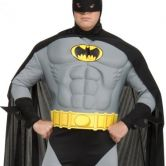 Batman Muscle Chest Adult Costume (Full Cut) | Plus Size