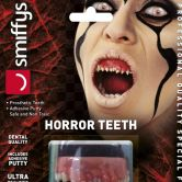 Horror Teeth, Invasion, with Upper Veneer Teeth