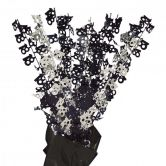 Dazzling Effects 18th Black Foil Centrepiece - Table Decoration
