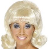 Flick Up 60's Lady Wig Blonde