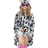 Cow Party Poncho, Shower Resistant