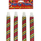 Party Time Shooters | Adult Pea Shooters - LIMITED STOCK!
