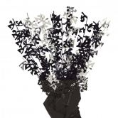 Dazzling Effects 21st Black Foil Centrepiece - Table Decoration