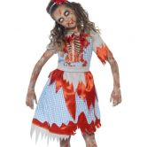 Zombie Country Girl Child Costume