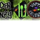 Halloween Tableware - PLEASE PHONE SHOP FOR AVAILABILITY