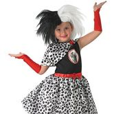 Cruella De Ville child Costume