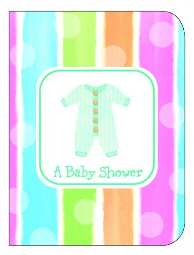 Invite Baby Shower Baby Clothes (Example Photo)
