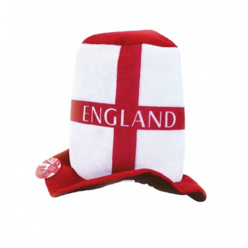 Hat -Felt Topper St George (England) (Example Photo)