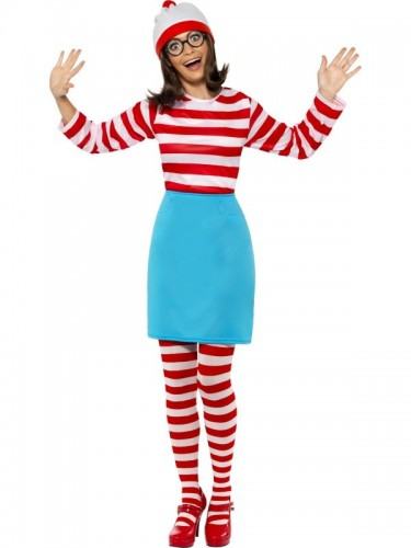 where's Wally? Wenda Costume (Example Photo)