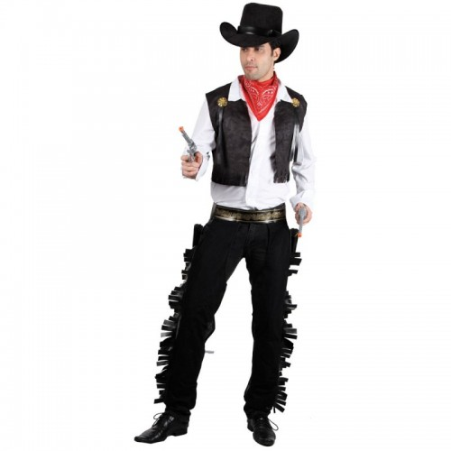 Out of stock - Wild West Adult Cowboy - Black (Example Photo)