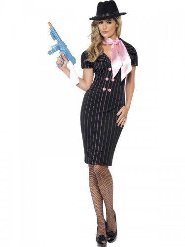 Gangster's Moll Adult Costume (Example Photo)
