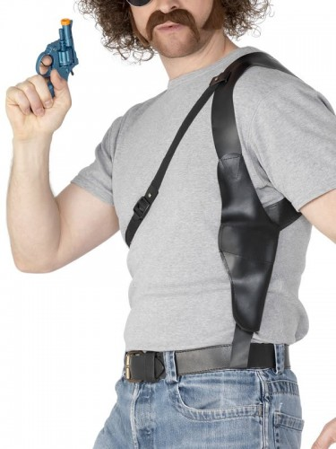 Shoulder Holster Black Leather Look (Example Photo)