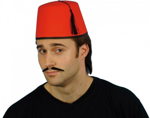 Fez Hat - Red (Example Photo)